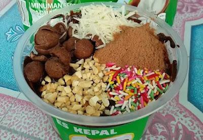 Resep Cemilan Praktis Es Kepal Cokelat