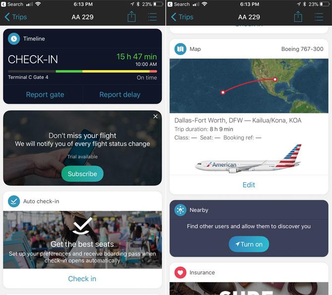 Aplicaciones para realizar el seguimiento de vuelos con tu iPhone