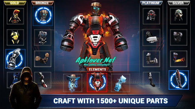 Real Steel Boxing Champions MOD APK unlimited money