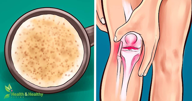 The Best Natural Drink to Straighten and Help Rebuild Cartilage and Ligaments