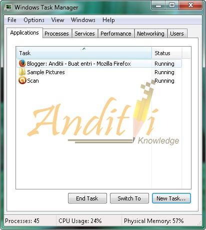 Tips Jitu Mengatasi Blank Page Pada Windows saat StartUp dengan Mudah-anditii.web.id