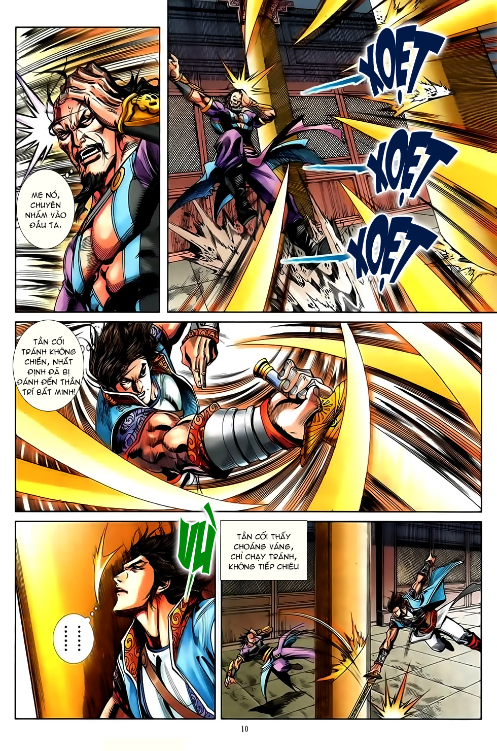 Đại Hiệp Truyền Kỳ (Thần Châu Hậu Truyện) chap 50 - Trang 9