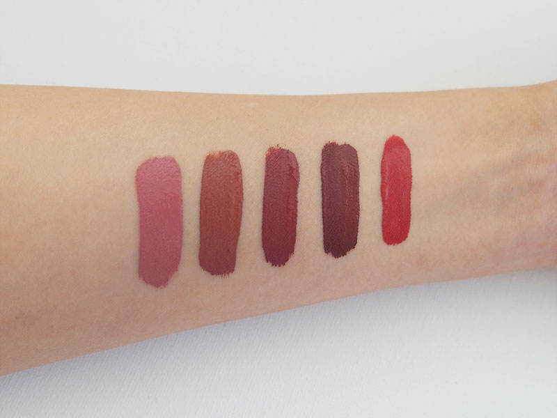 ColourPop Ultra Matte Lip Nudes Review featuring Bianca, Beeper, Stingraye, Teeny-Tiny and Bumble Swatches