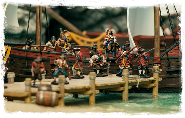 Firelock Games: Blood and Plunder Pirate Miniatures
