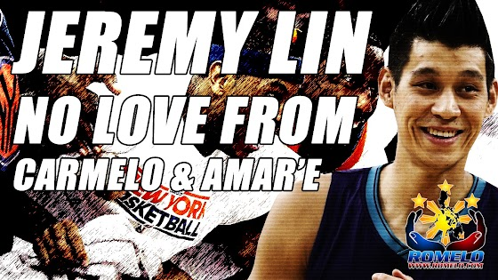 Jeremy Lin ★ Got No Love From Carmelo & Amar'e ★ Says Mike D'Antoni