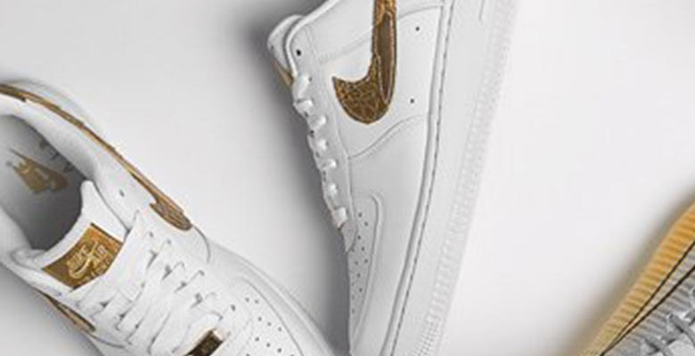 81daeb818fa8 Update  The Air Force 1  Golden Patchwork  shoes will be available to buy  starting tomorrow
