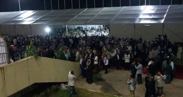 سقوط 3 جرحى في مواجهة بين أنصار بركة وشباط بمؤتمر حزب الاستقلال