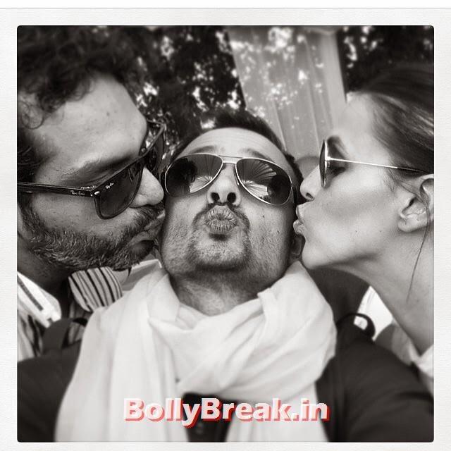 re post, @sattu009 a he ee, ... air kisses and all that... me rey a ar kisha adi hai, gaurav kapur, @kiratbhattal, Gaurav Kapoor Marriage Photos with Girlfriend  Kirat Bhattal