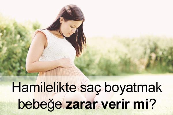 Hamilelikte Saç Boyatma Bebeğe Zarar Verir mi?