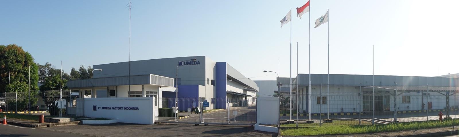 Lowongan Kerja PT Umeda Factory Indonesia Kawasan MM2100
