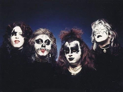 Members Of Kiss Face Paint