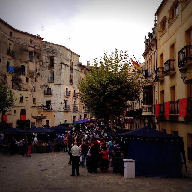 Plaza principal de Bocairent