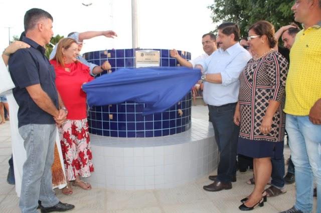 Prefeito Joaquim entrega praça de Uruçu-Mirim revitalizada e com Wi-Fi gratuito