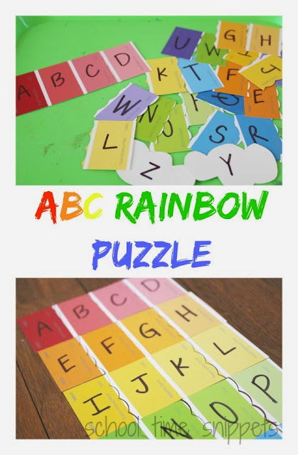 preschool rainbow activity