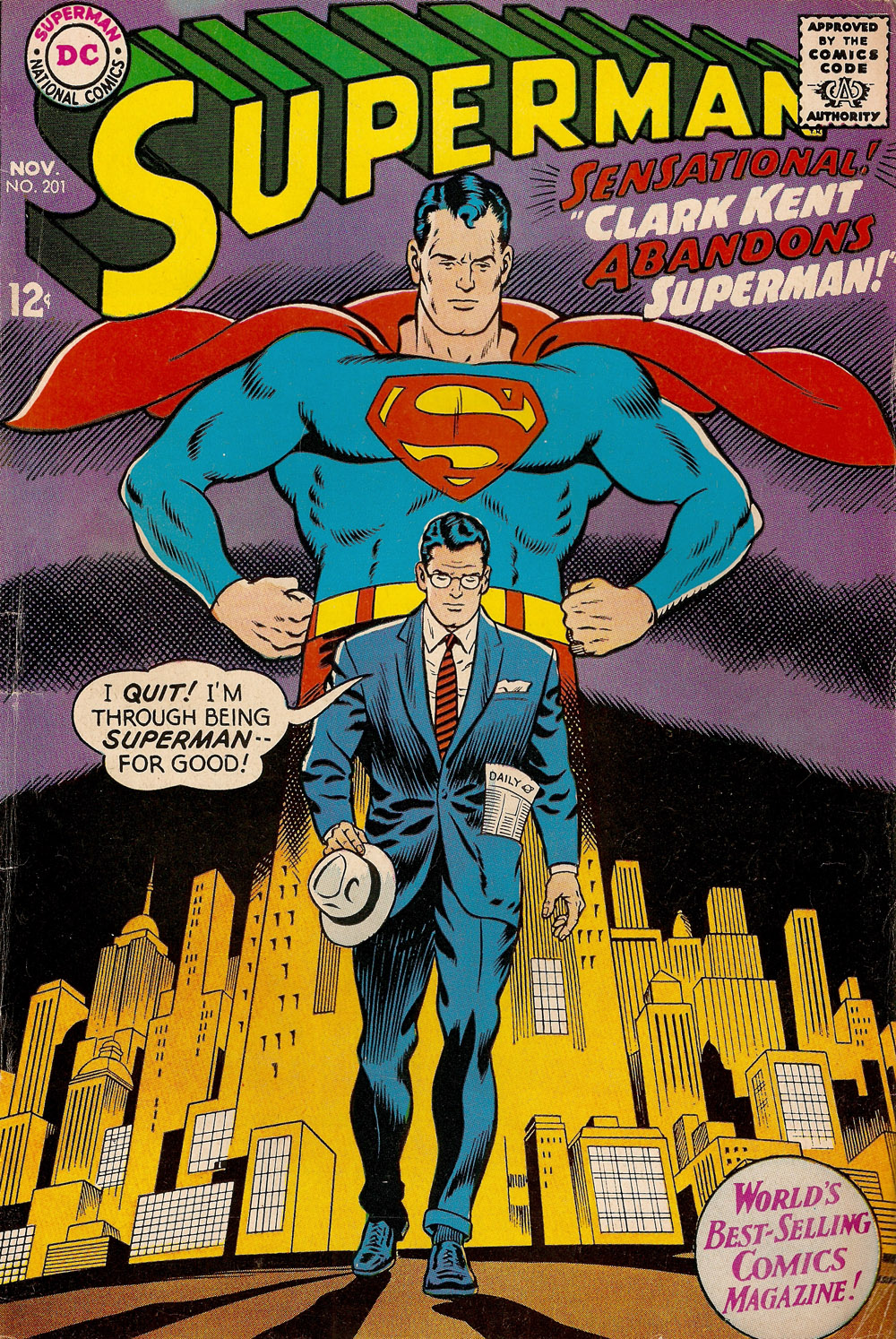 Vintage Comic Book Cover : Retrospace classic superman comic covers