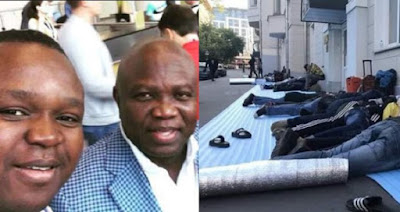Lagos State governor, Akinwumi Ambode rescues 50 Nigerian football fans stranded in Russia