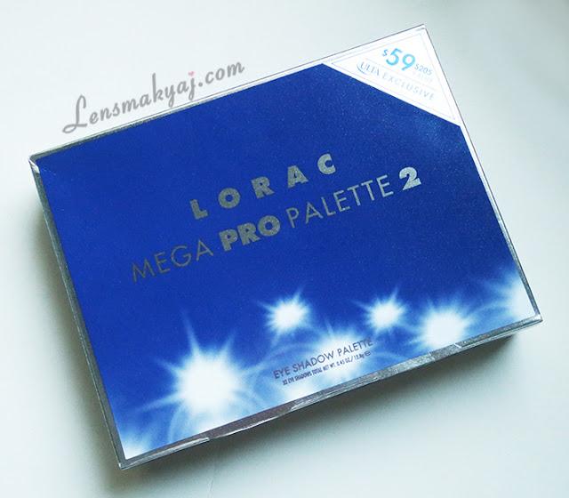 Lorac Mega Pro 2 Palet