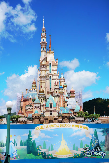 香港迪士尼樂園重開 奇妙夢想城堡 Hong Kong Disneyland reopening castle of magical dreams