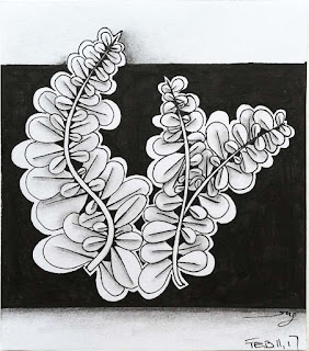 Inspired by... Wist, another interesting organic tangle