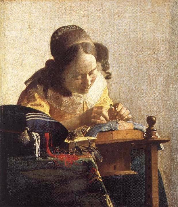 A Rendeira - Vermeer, Jan e suas principais pinturas