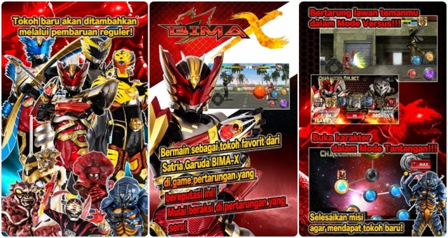 Download BIMA-X Game MOD Hack dengan Unlimited Money