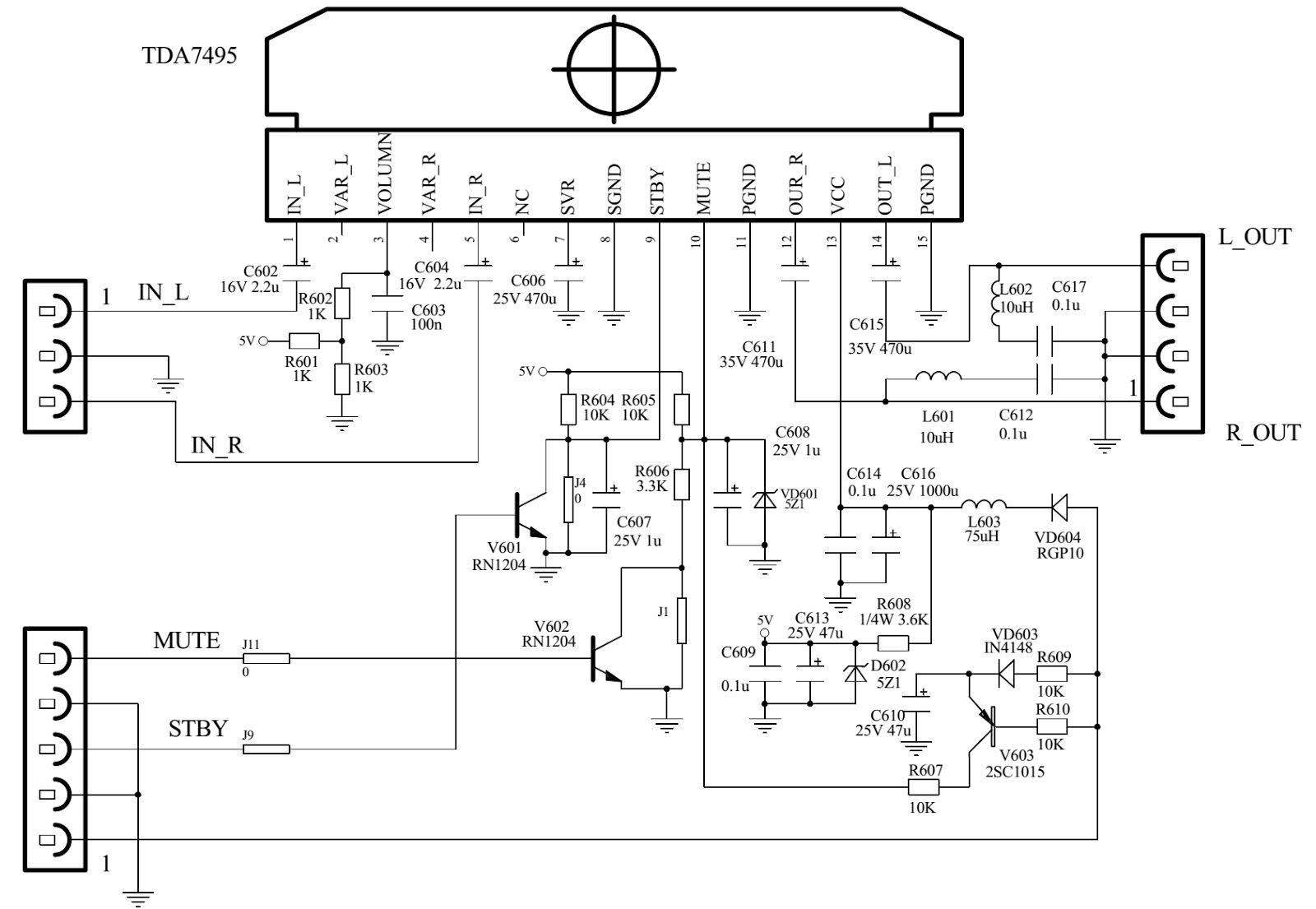 Audio Schematic Diagram Free Wiring For You Amplifier Tda 21 Circuit Audiovox Tv Best Site Harness Mixer