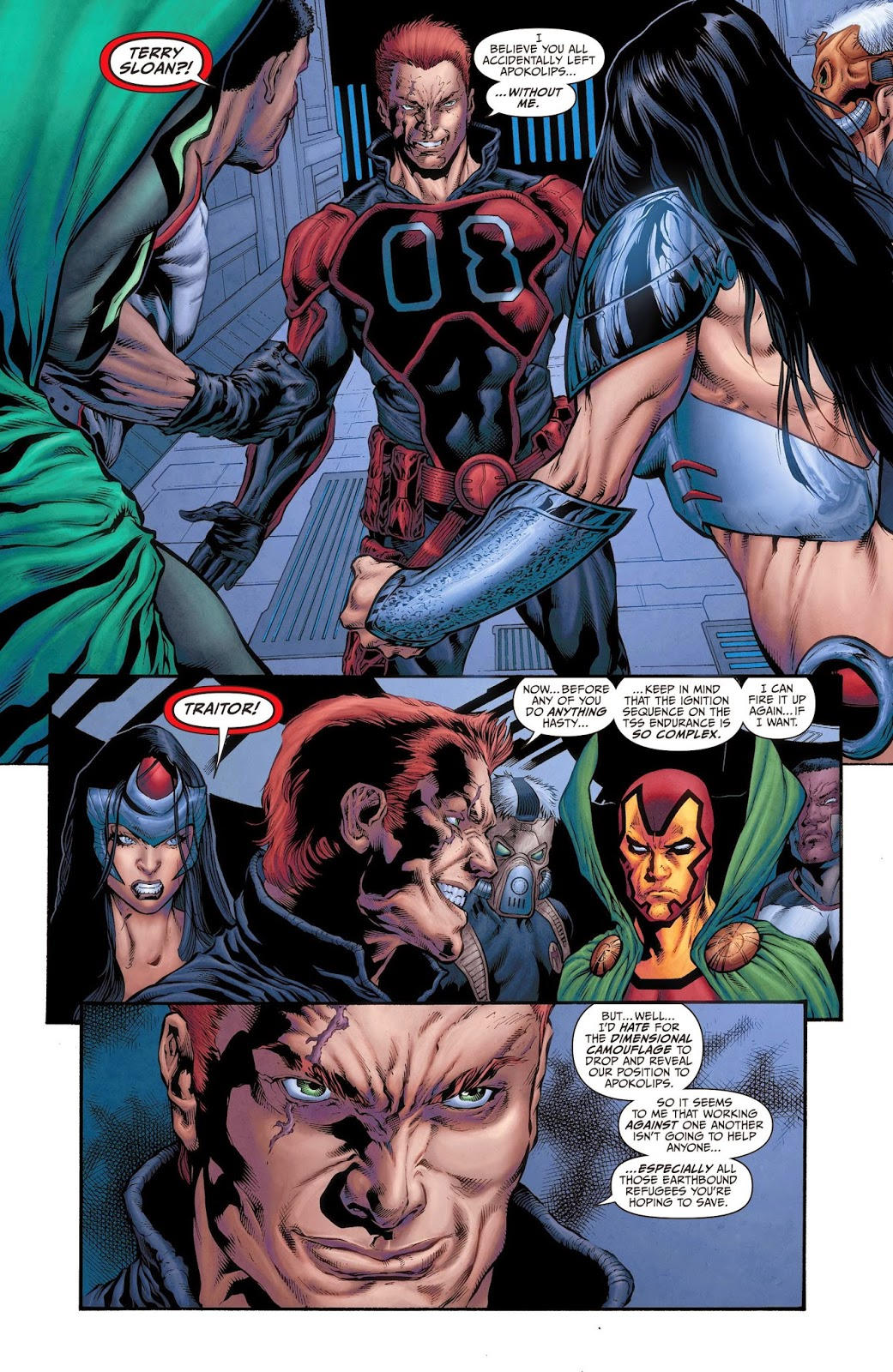 Weird Science Dc Comics Earth 2 World S End 20 Review