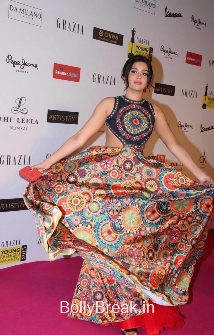 Tollywood Actress Deeksha Seth, Deeksha Seth Hot Pics from Grazia Young Fashion Awards 2015