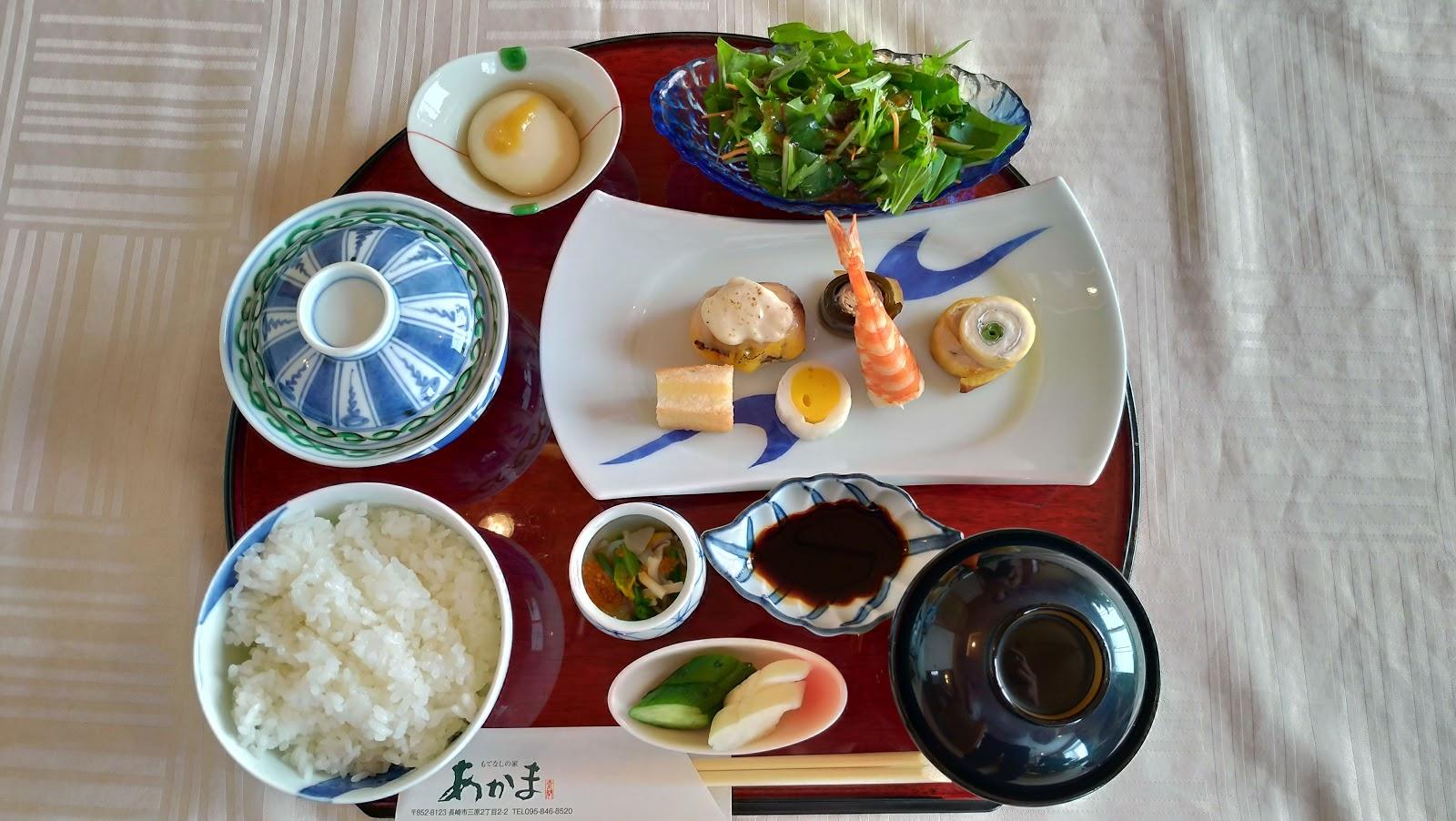 長崎市お食事処あかまのお祝い事の食事