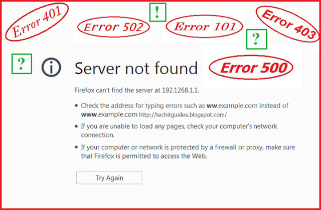 HTTP Status and Error Codes