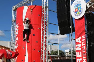 Santo Antônio de Jesus se prepara para receber nova edição da Arena Interativa Coca-Cola