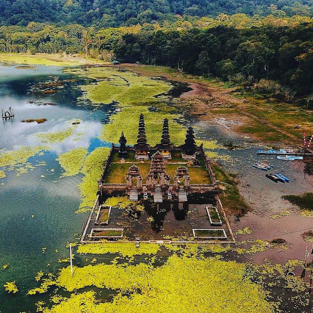 danau tamblingan drone