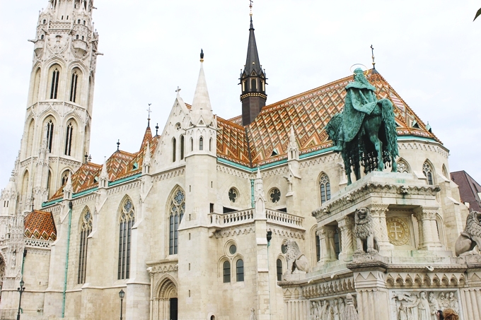 48h in Budapest: Matthias Church.Budapest sightseeing tour.Matejina crkva Budimpesta.Most beautiful churches in Europe.
