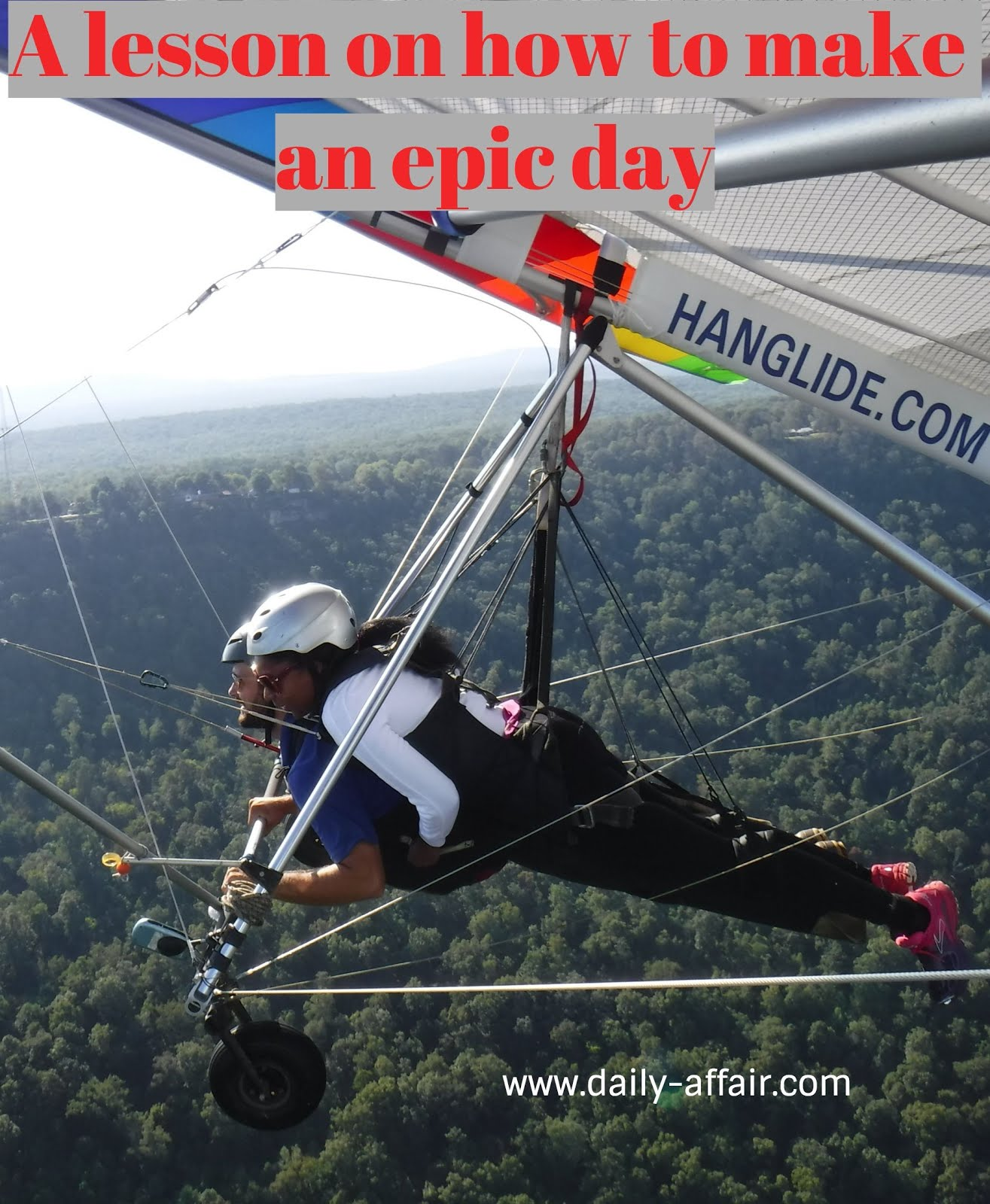 A lesson on how to make an epic day - The Daily Affair | a