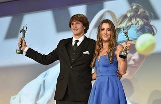Belinda Bencic and Alexander Zverev