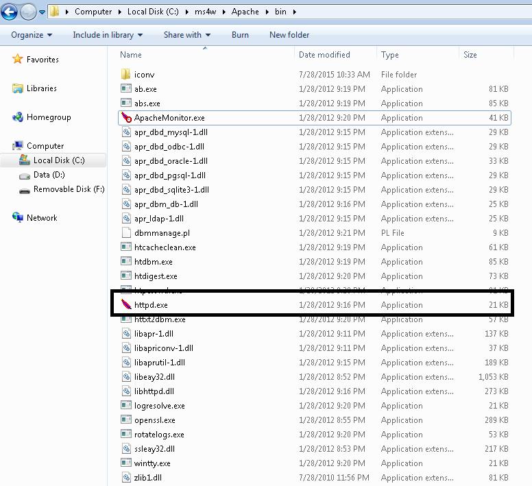 Cara Install MS4W (Map Server For Windows) | Cah biyen