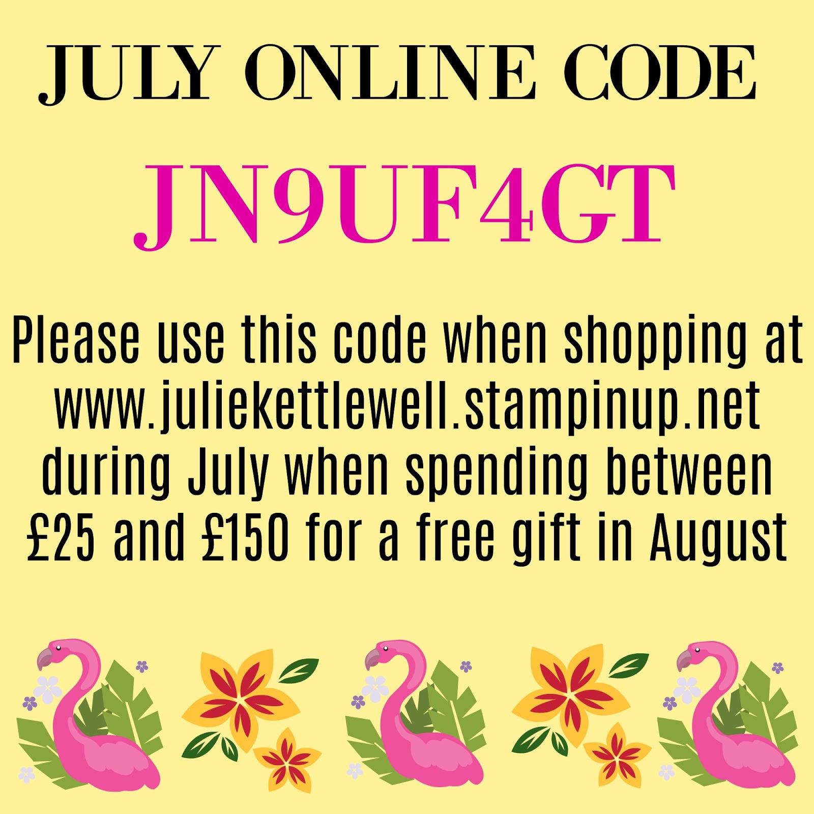 Stampin up coupon code