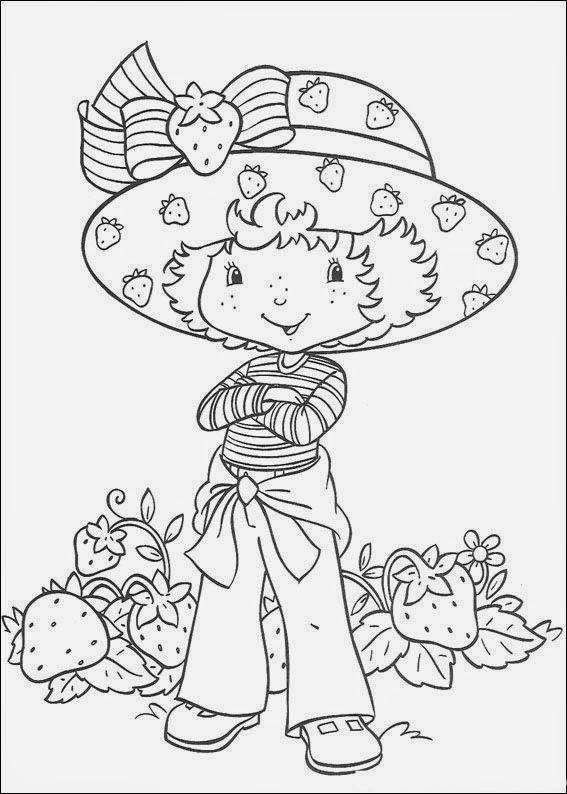 Desenhos De Moranguinho E Sua Turma Para Colorir Pintar Imprimir