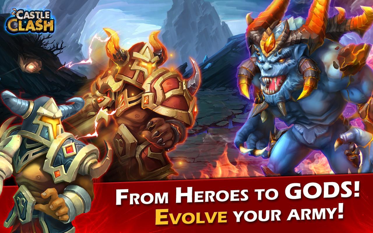 download game castle clash mod apk versi terbaru