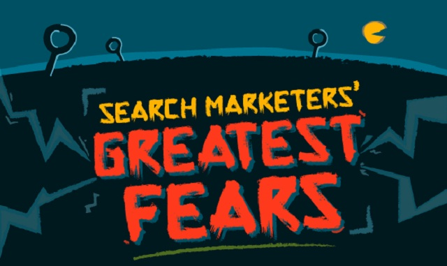 17 Greatest Fears That Keep Search Marketers Awake at Night - #infographic #searchmarketing #SEO