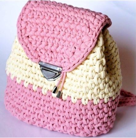 De De Como Crochê Crochê Faço De Como Faço Mochila Crochê Como Mochila Mochila QxBrhsodtC