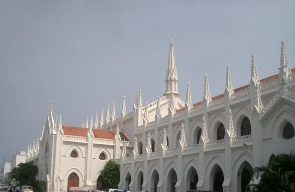 Chennai-India-Tamil-Nadu-St-Marys-Church-madras