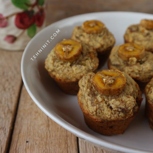 Muffin Pisang Oatmeal