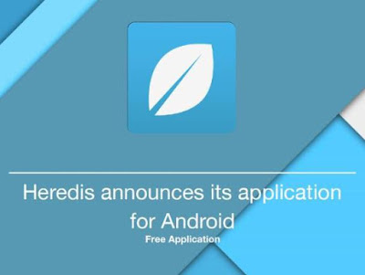 Heredis announces its application for Android