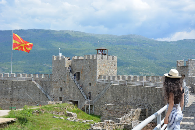 Czar Samual' kalesi , Ohrid