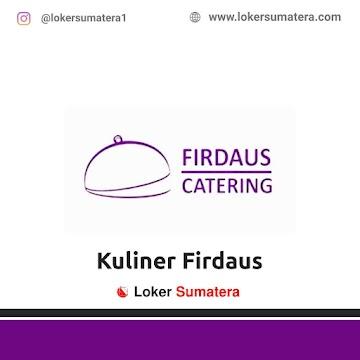 Lowongan Kerja Pekanbaru: Kuliner Firdaus September 2020