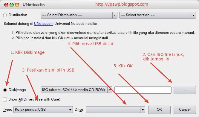 Cara Install Linux Mint dari USB Flash dengan UNetbootin