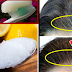 This Mixture Will Turn Your Gray Hair Back To It's Natural Black Hair Color!