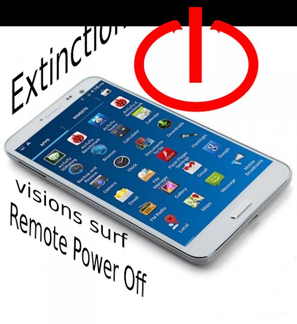 Extinction d'un téléphone android à distance