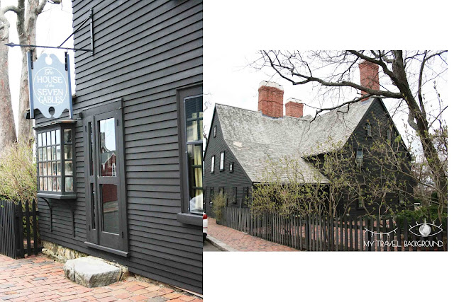 My Travel Background : Halloween à Salem - The House of the Seven Gables, la Maison des Sept Pignons